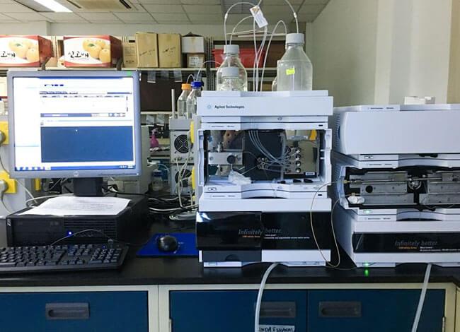 HPLC gép