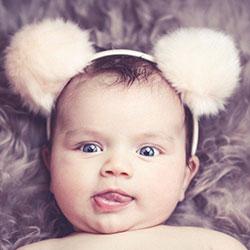 Cukor ízlelés kísérlet babákkal