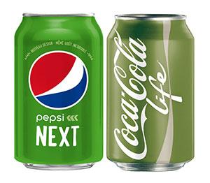 Szteviás Cola & Pepsi