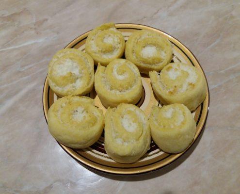 Cukormentes kókuszos aprósüti steviával