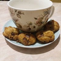 Csokis puffancs steviával