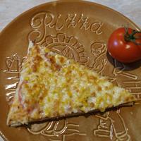 Puha, laktató pizza steviával