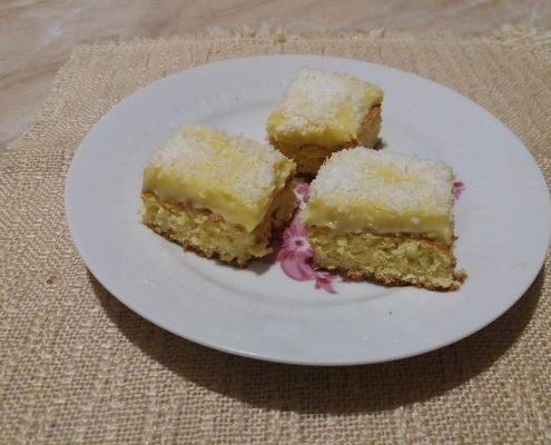 Kókuszos szelet steviával